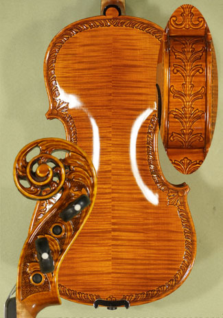 Shiny 4/4 MAESTRO VASILE GLIGA Scroll Violin on sale