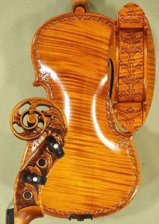 4/4 MAESTRO VASILE GLIGA Scroll One Piece Back Violin on sale