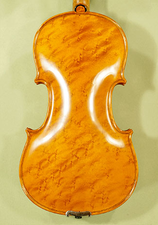 4/4 MAESTRO VASILE GLIGA Bird\'s Eye Maple One Piece Back Violin