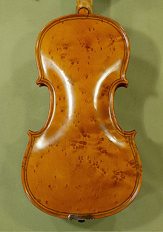 4/4 MAESTRO VASILE GLIGA Inlaid Double Purfling Bird\'s Eye Maple One Piece Back Violin