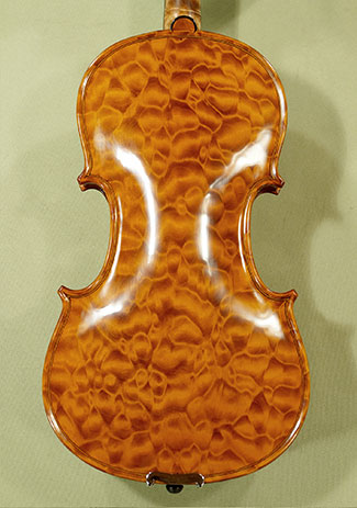 4/4 MAESTRO VASILE GLIGA Quilted Maple One Piece Back Violin on sale