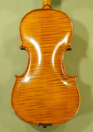 4/4 PROFESSIONAL \'GAMA Super\' One Piece Back Violin on sale