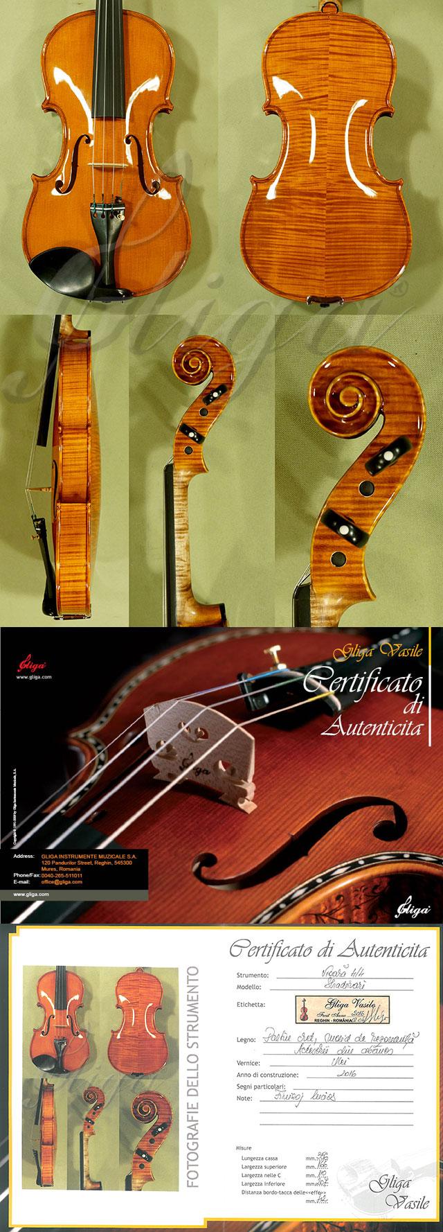 Shiny 4/4 MAESTRO VASILE GLIGA Violin