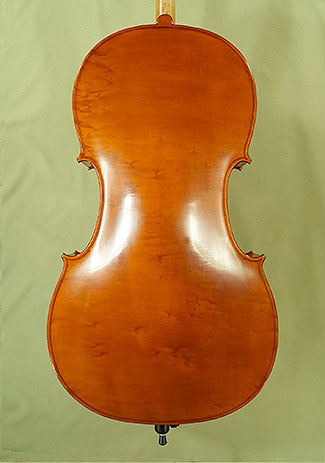 4/4 WORKSHOP \'GEMS 1\' Bird\'s Eye Maple One Piece Back Cello on sale