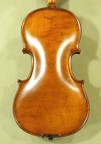 Antiqued 1/2 Student \'GEMS 2\' Bird\'s Eye Maple One Piece Back Violin on sale