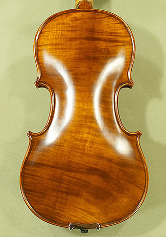 Antiqued 1/2 PROFESSIONAL \'GAMA Super\' One Piece Back Violin on sale