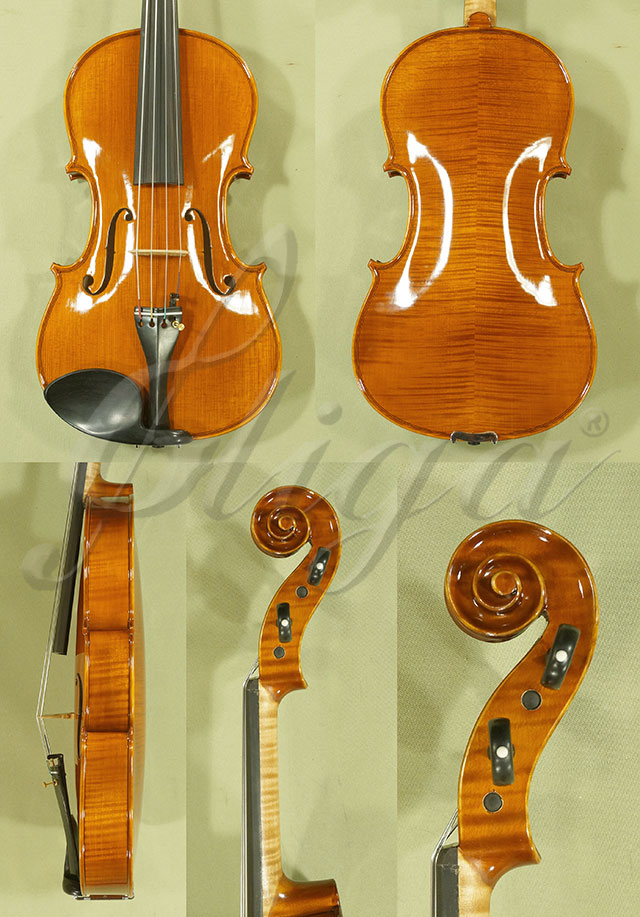 "Shiny Antiqued 15.5"" PROFESSIONAL 'GAMA' Viola"