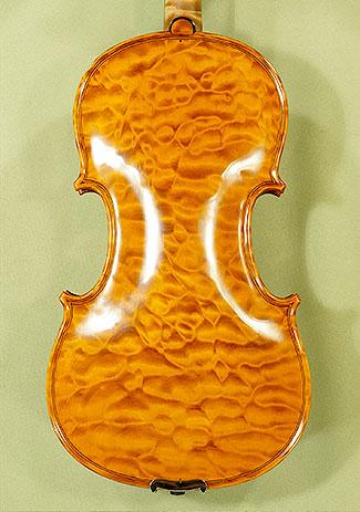 4/4 MAESTRO VASILE GLIGA Quilted Maple One Piece Back Violin on sale