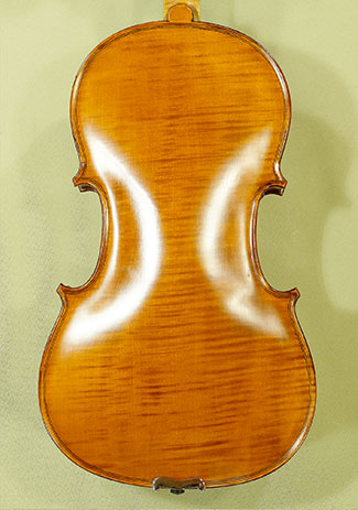 "Antiqued 15.5"" WORKSHOP \'GEMS 1\' One Piece Back Viola"