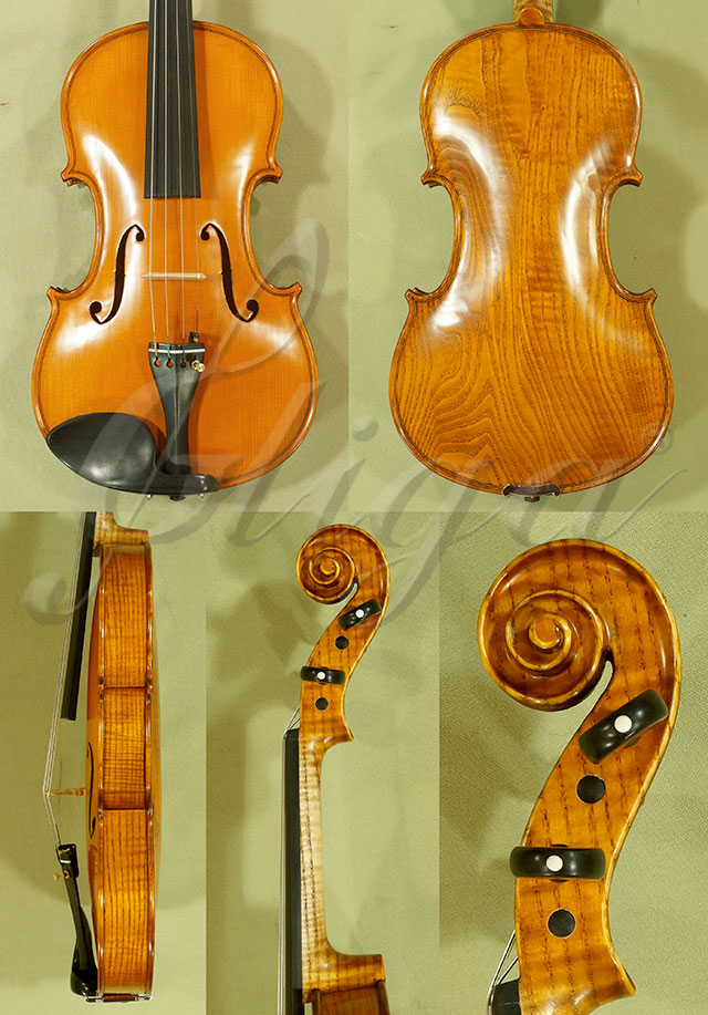 4/4 PROFESSIONAL 'GAMA Super' Ash One Piece Back Violin 'Guarneri'