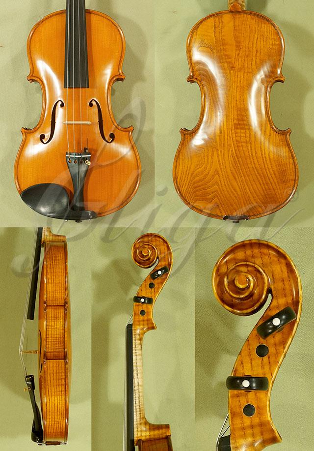 4/4 PROFESSIONAL 'GAMA Super' Ash One Piece Back Violin 'Guarneri'