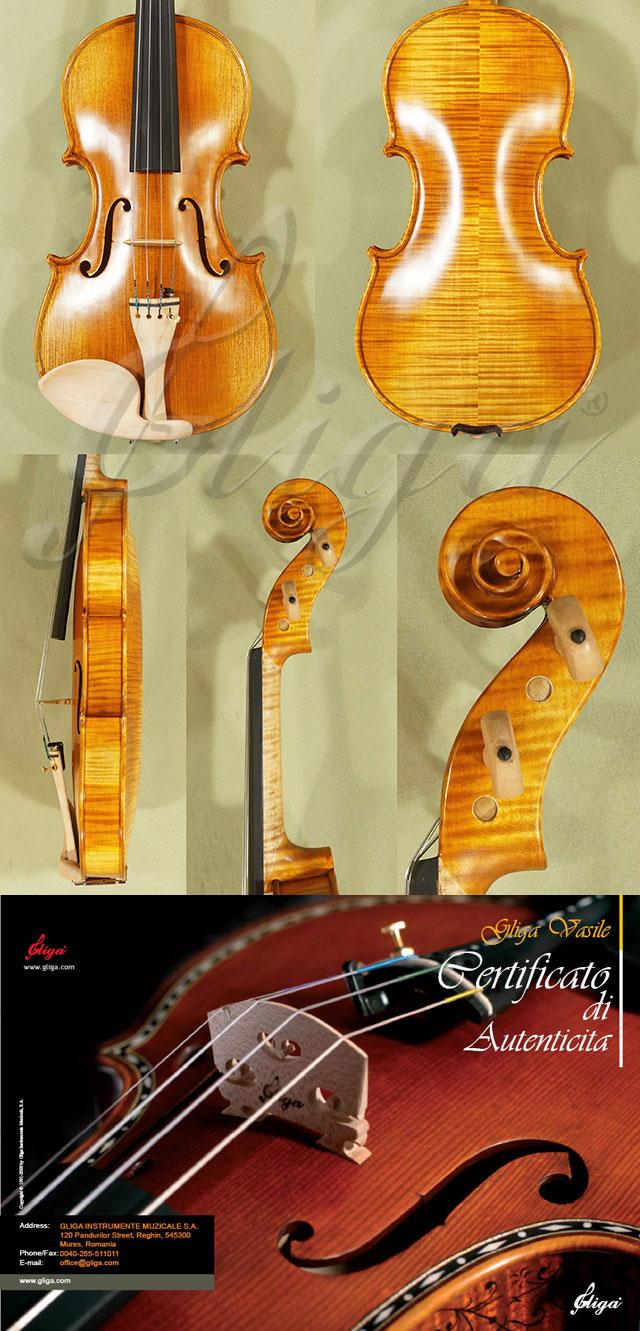4/4 MAESTRO VASILE GLIGA Violin - Copy of 'Amati 1572'