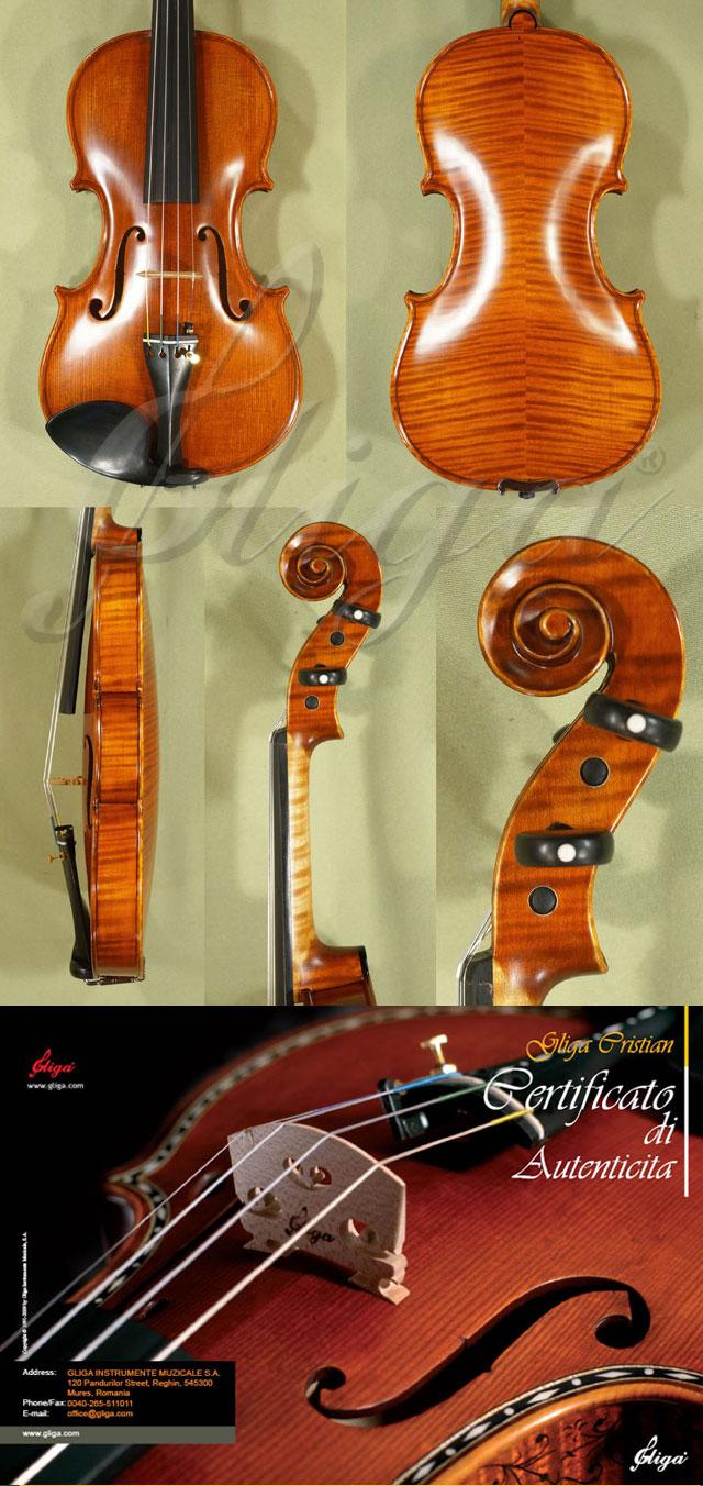 Antiqued 3/4 MAESTRO GLIGA Violin