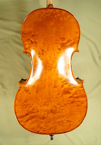 4/4 MAESTRO VASILE GLIGA Bird\'s Eye Maple One Piece Back Cello on sale