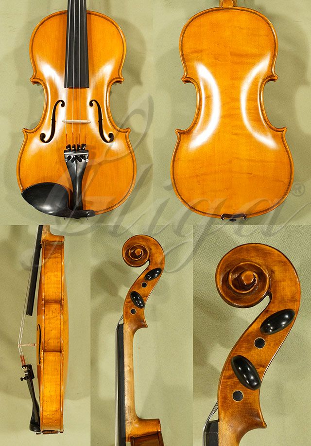 Antiqued 4/4 Student 'GEMS 2' Bird's Eye Maple Violin
