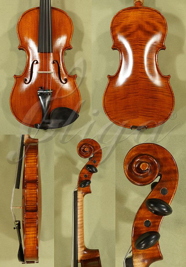Antiqued 1/2 WORKSHOP 'GEMS 1' Left Handed Violin