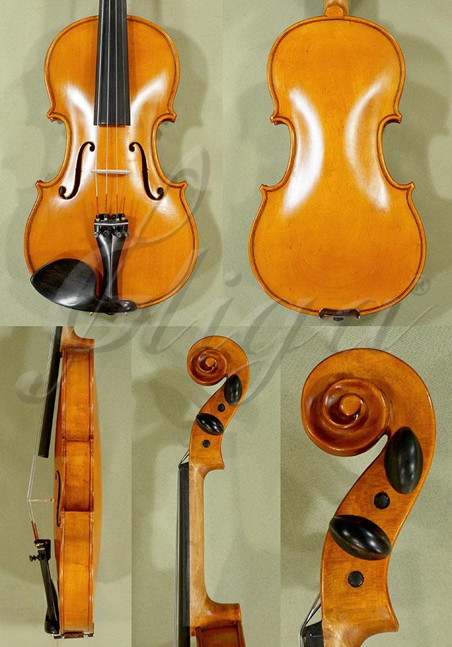 Antiqued 1/2 Student 'GEMS 2' Bird's Eye Maple One Piece Back Violin