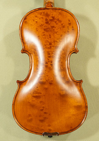 Antiqued 3/4 WORKSHOP \'GEMS 1\' Bird\'s Eye Maple One Piece Back Violin on sale