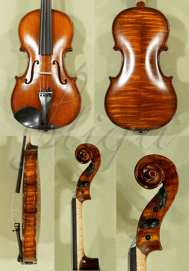 Stained Antiqued 1/2 WORKSHOP 'GEMS 1' Violin