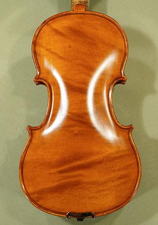 Antiqued 1/2 WORKSHOP 'GEMS 1' One Piece Back Violin