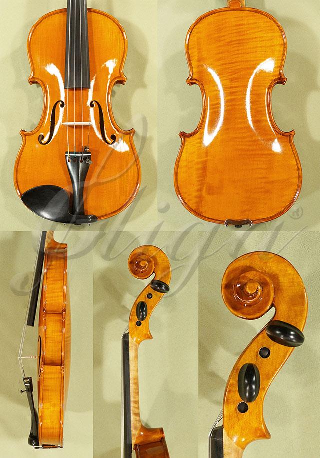 Shiny Antiqued 4/4 WORKSHOP 'GEMS 1' One Piece Back Violin