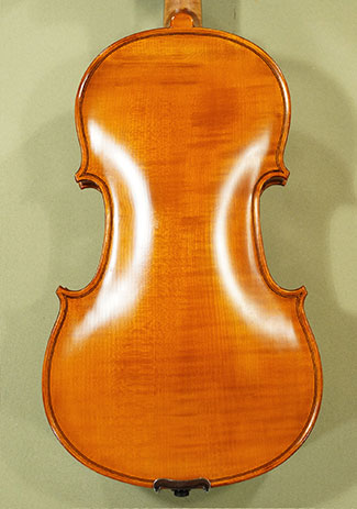 Antiqued 4/4 School 'GENIAL 1-Oil' One Piece Back Violin 'Guarneri' on sale