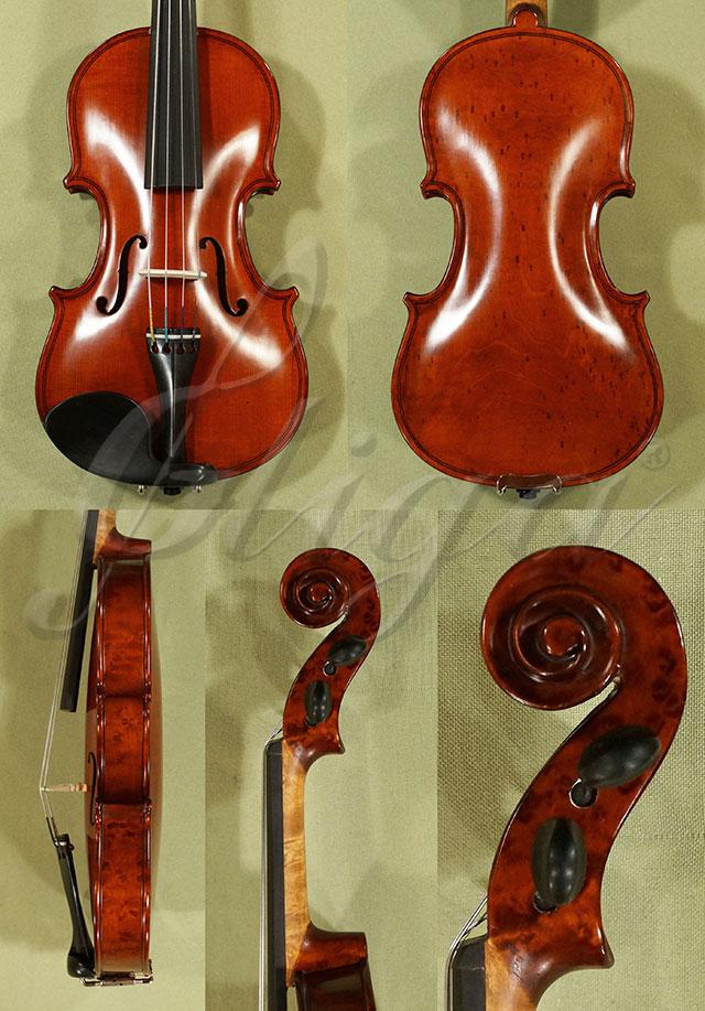 1/10 WORKSHOP 'GEMS 1' Bird's Eye Maple One Piece Back Violin