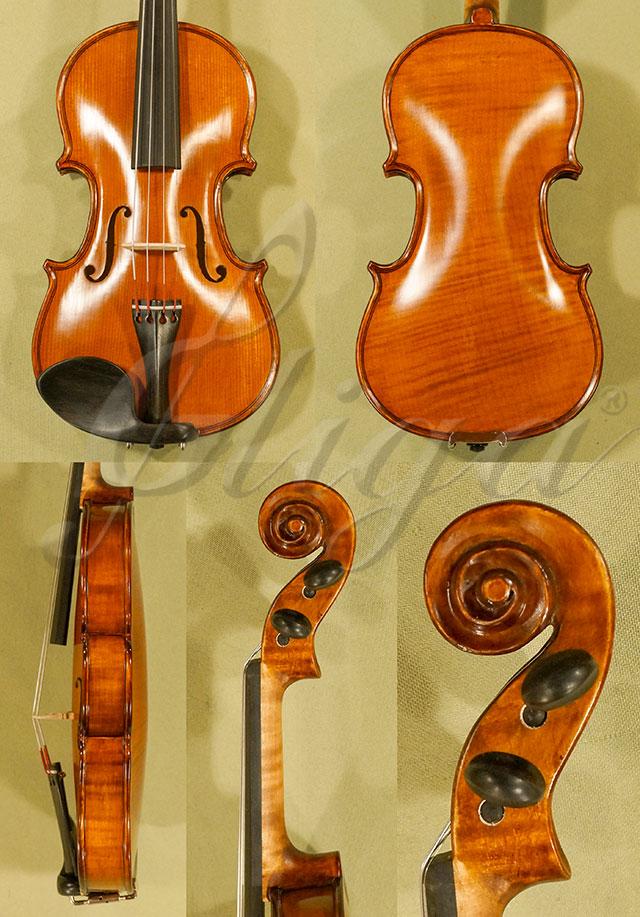 Antiqued 1/10 Student 'GEMS 2' One Piece Back Violin