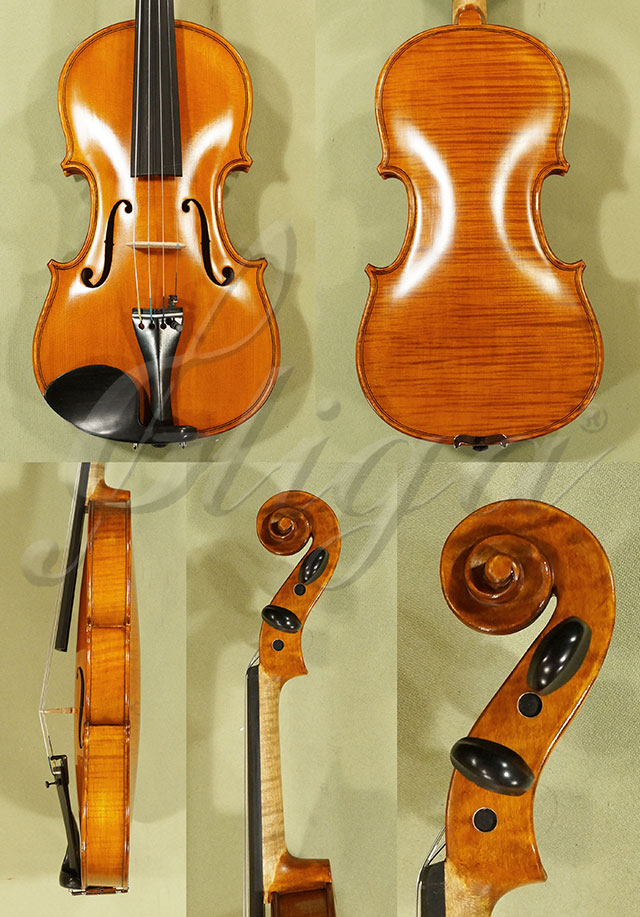 Antiqued 3/4 WORKSHOP 'GEMS 1' One Piece Back Violin