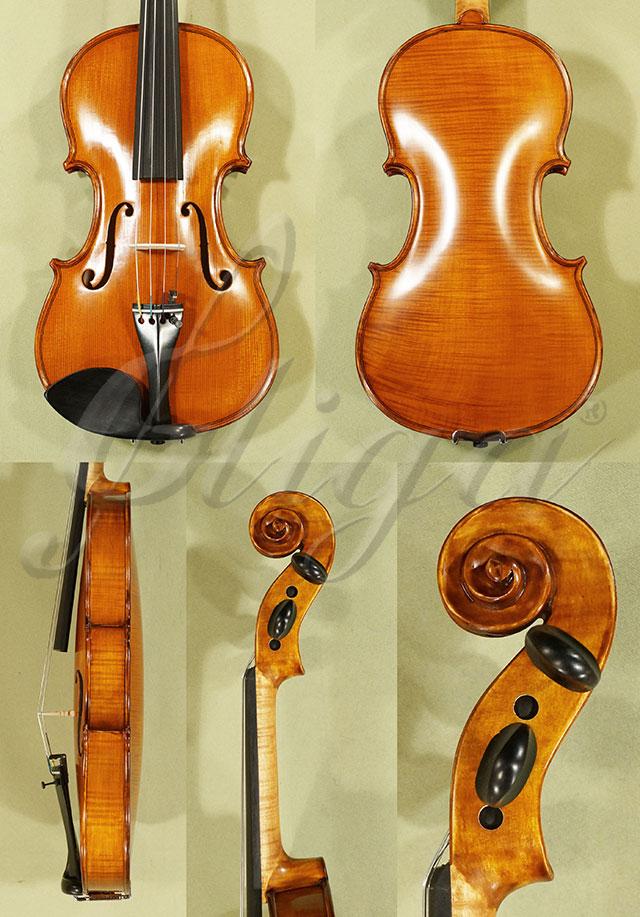 Antiqued 3/4 WORKSHOP 'GEMS 1' One Piece Back Violin