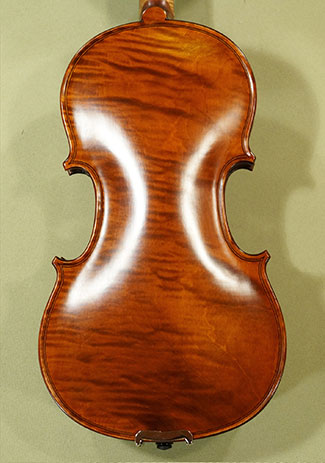 Antiqued 1/2 WORKSHOP \'GEMS 1\' Wild Maple One Piece Back Violin on sale
