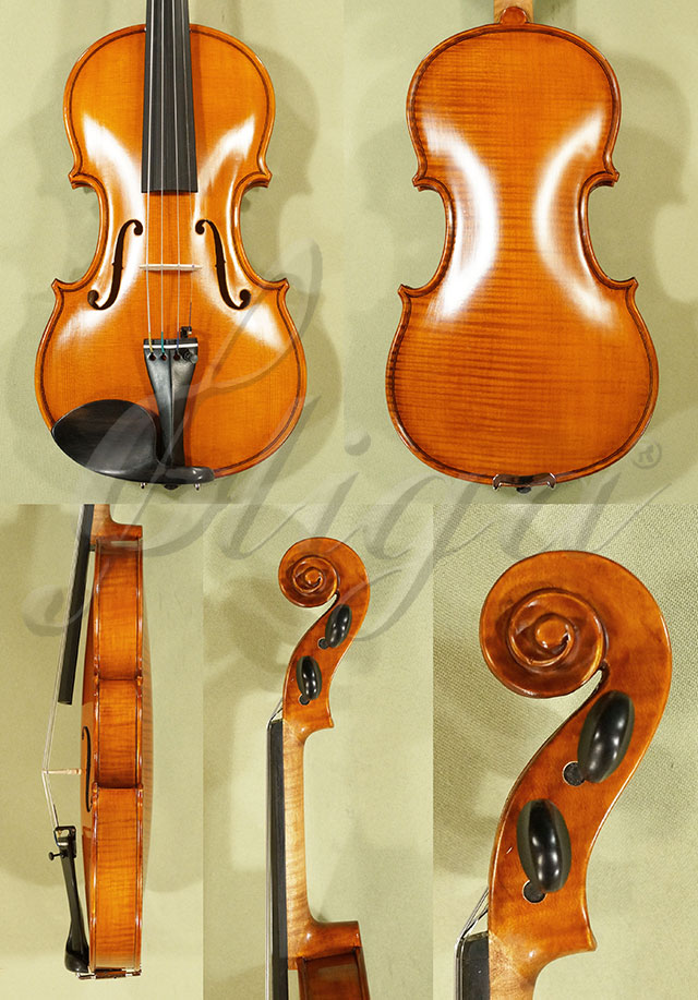 Antiqued 1/2 WORKSHOP 'GEMS 1' One Piece Back Violin