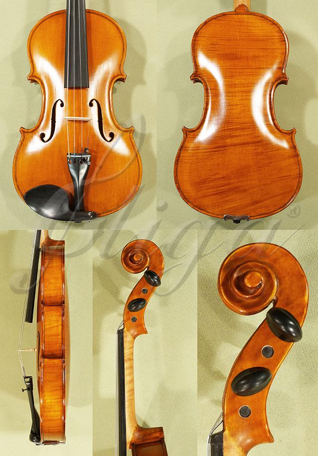 Antiqued 4/4 WORKSHOP 'GEMS 1' One Piece Back Violin 'Guarneri'
