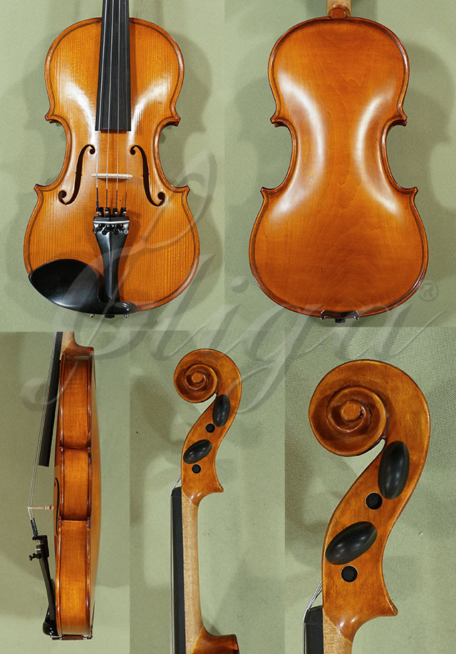 3/4 School 'GENIAL 1-Oil' Poplar One Piece Back Violin