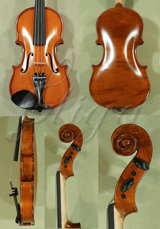 Antiqued 1/4 School 'GENIAL 1-Oil' One Piece Back Violin