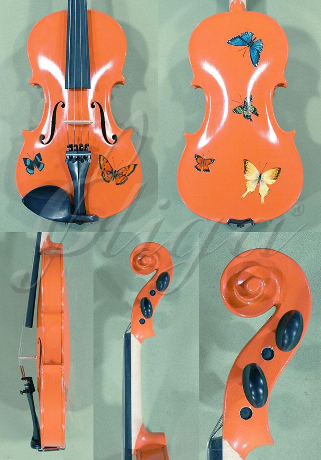 3/4 Student 'GEMS 2' Pink Butterflies Violin