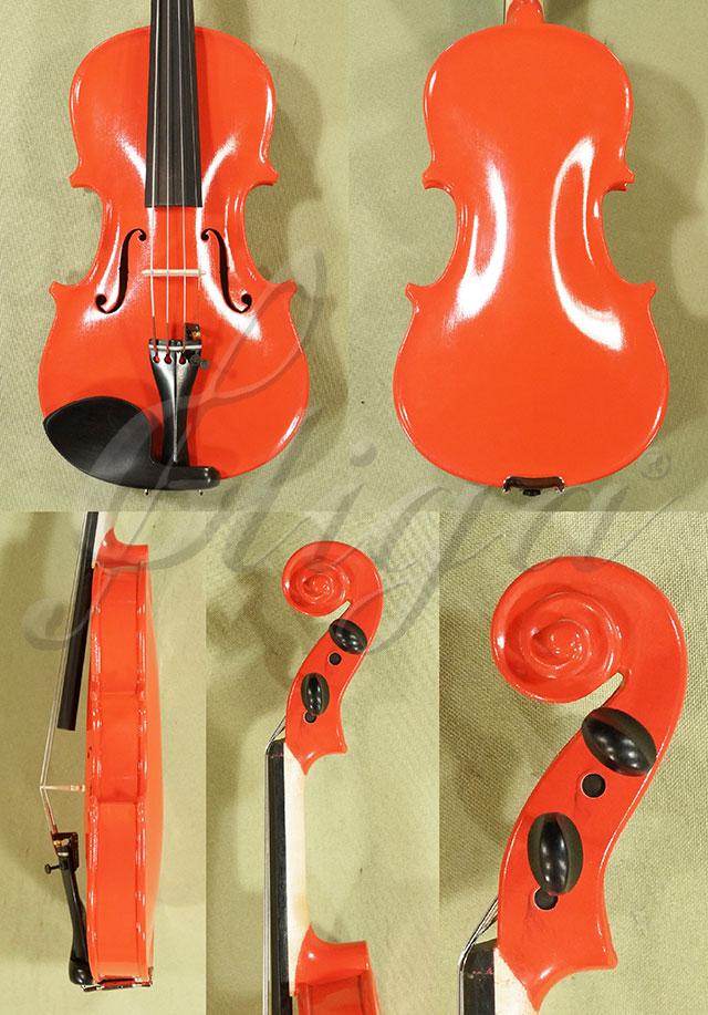 1/8 School 'GENIAL 1-Oil' Pink Violin