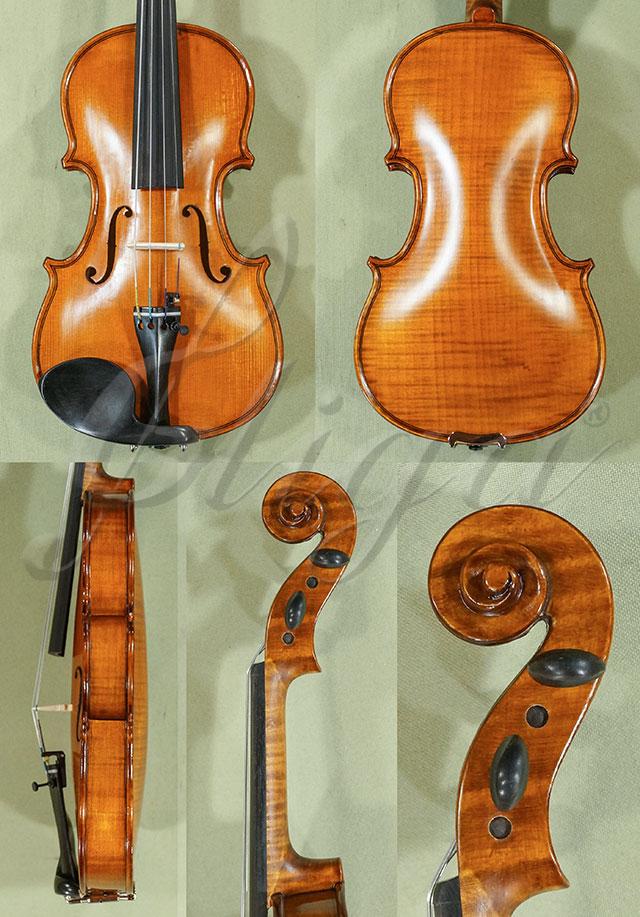Antiqued 1/8 WORKSHOP 'GEMS 1' One Piece Back Violin