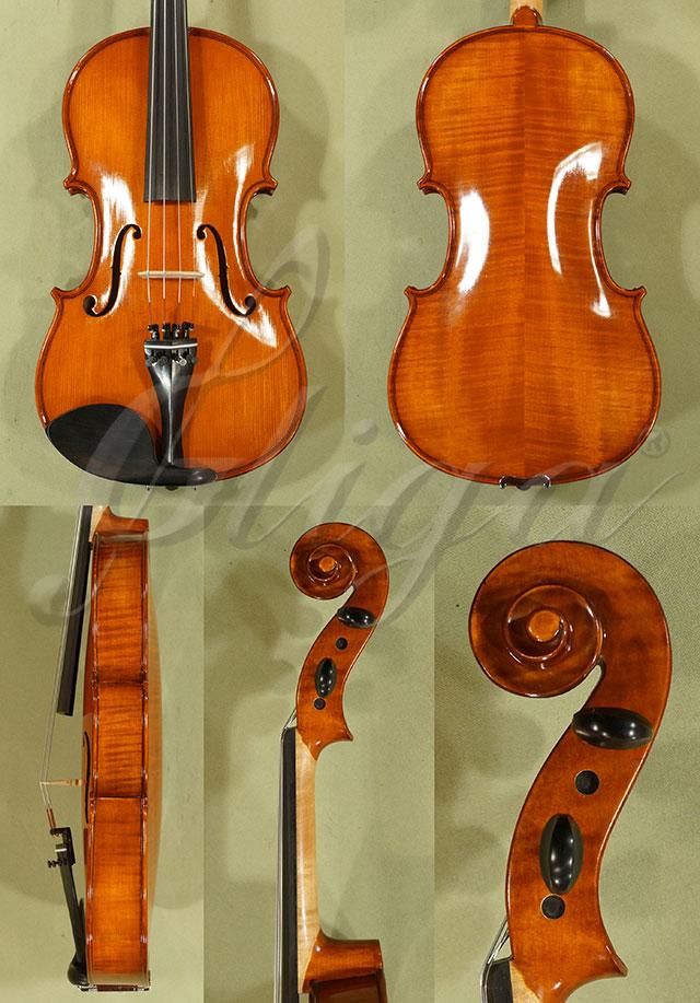 "Shiny Antiqued 15.5"" Student 'GEMS 2' Viola"