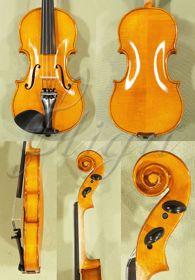 Shiny Antiqued 1/4 School 'GENIAL 1-Oil' Violin