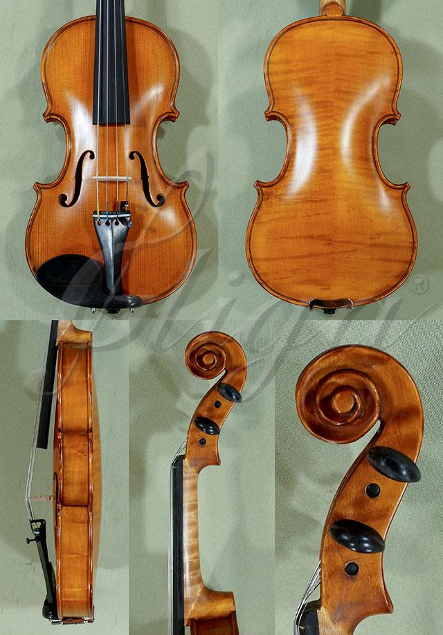 Antiqued 1/4 WORKSHOP 'GEMS 1' Bird's Eye Maple Violin