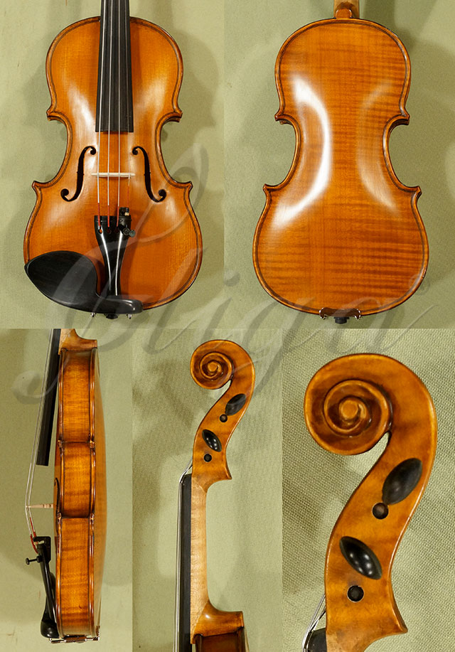 Antiqued 1/8 Student 'GEMS 2' One Piece Back Violin