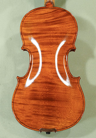 Shiny Antiqued 1/2 WORKSHOP 'GEMS 1' One Piece Back Violin on sale