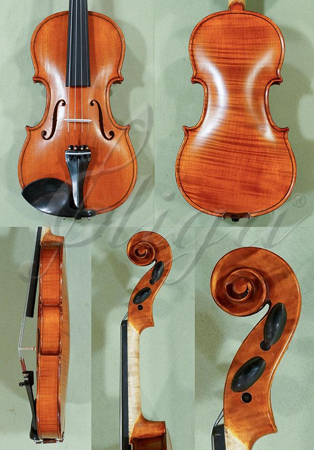 Antiqued 1/2 Student 'GEMS 2' One Piece Back Violin