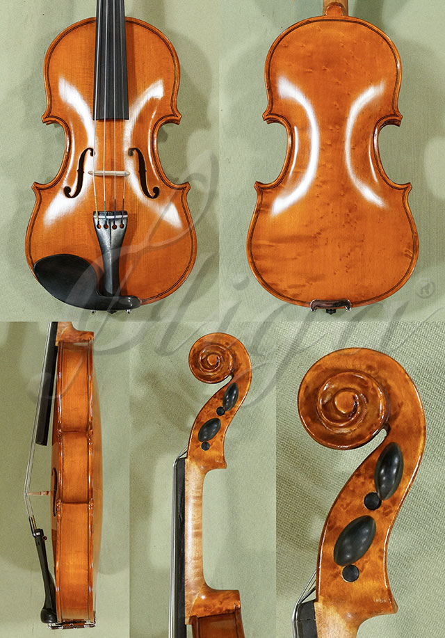 1/10 WORKSHOP 'GEMS 1' Bird's Eye Maple One Piece Back Violin