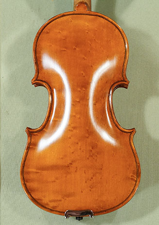 1/10 WORKSHOP 'GEMS 1' Bird's Eye Maple One Piece Back Violin on sale