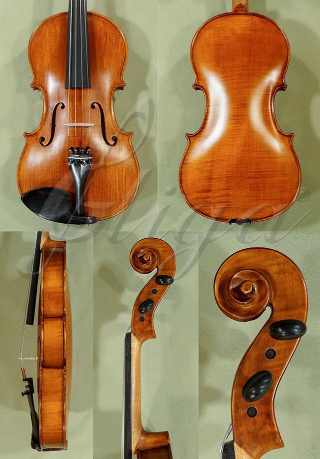 """Antiqued 16"""" Student 'GEMS 2' One Piece Back Viola"""
