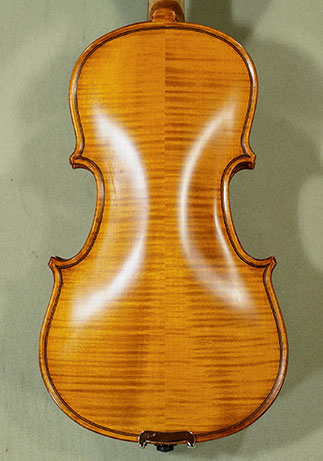 Antiqued 1/8 WORKSHOP \'GEMS 1\' Bird\'s Eye Maple One Piece Back Violin