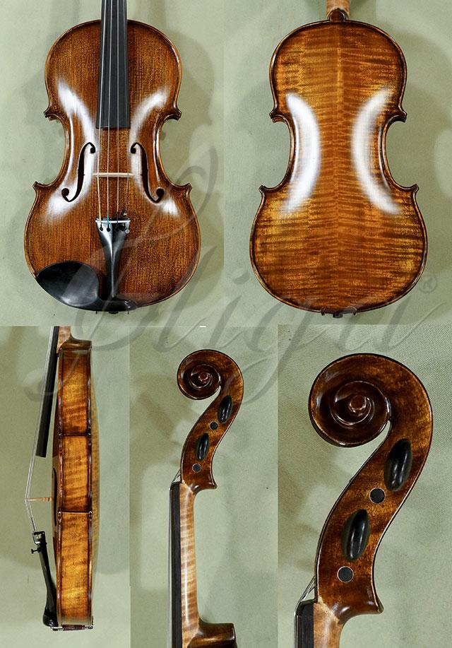 Stained Antiqued 4/4 WORKSHOP 'GEMS 1' Violin 'Guarneri'