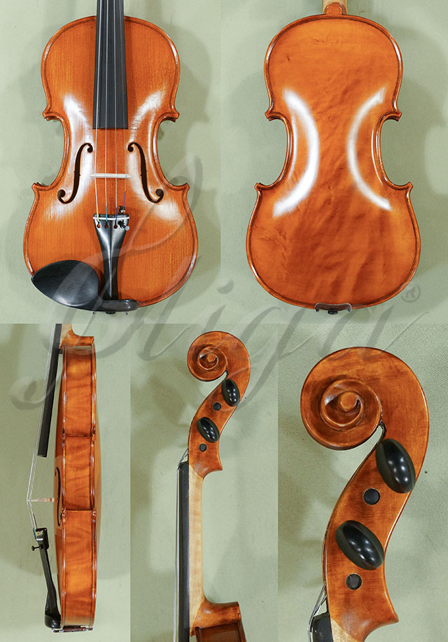 Antiqued 4/4 WORKSHOP 'GEMS 1' Wild Maple One Piece Back Violin